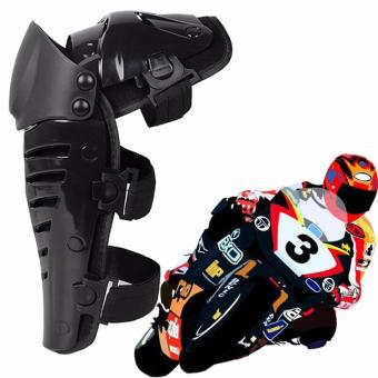 XYS COLLECTION 1 Pair Racing Enforcer Adult Knee Pads/Adult Shin Guards Gear Flexible Breathable Adjustable Knee and Shin Pads Knee Guard Motorcycle Gear Protective Gear Body Armor - Black/One Size - intl