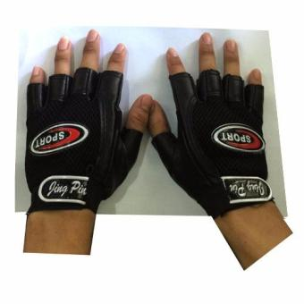 XZY- Jing Pin Sport Half Finger Cycling Gloves (Black) Price Philippines