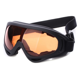 YBC Motorcycle Ski Snowboard Dustproof Sunglasses Eye Goggles Brown- intl Price Philippines