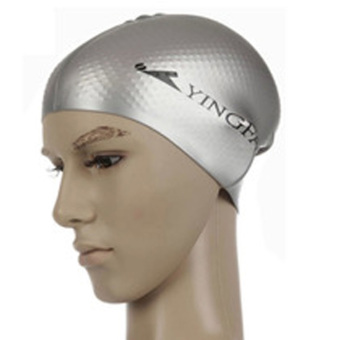 Yingfa silicone solid color within the particles waterproof swimming cap