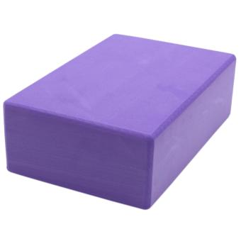 Yoga Brick Foam for Exercise and Health Fitness (Lavander) set of 2 - 2