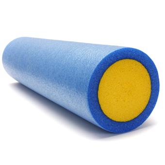 Yoga Grid Foam Roller Pilates Massage Exercise Fitness Gym (Blue) - Intl