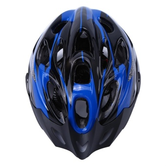 YOSOO 18 Holes Mountain Road Bike Unisex Adjustable Safety Helmet Blue - intl - 5