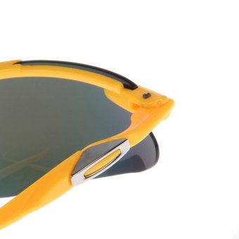 ZUNCLE Fashion Trends UV400 Protection Sunglasses - Yellow + Colorful - picture 2
