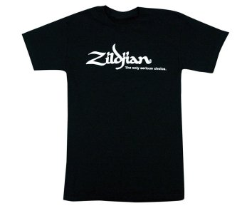 100% Cotton Short Sleeve T-Shirt Zildjian Classic Black Mens T Shirts For My DIY - intl