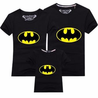 (1PC Dad Batman)Father Mother Daughter Son Outfit Family Matching Clothes Men T-Shirt - intl
