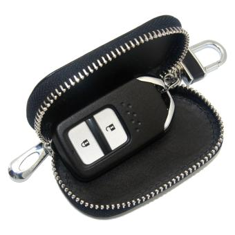 1pc Leather Key Wallet Car Key Case For TOYOTA (BLACK) - intl - 3