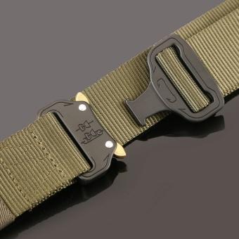 1PC Military Equipment Tactical Belt Men Casual Brand TDU ThickenNylon Adjust Metal Buckle Militar Combat Belt Male - intl - 2