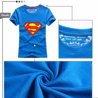 (1PC Price Dad)Superman Family Matching Outfits Mother Daughter Men Women Girls Boys T-Shirt Top Tee Clothes Clothing - intl - 3