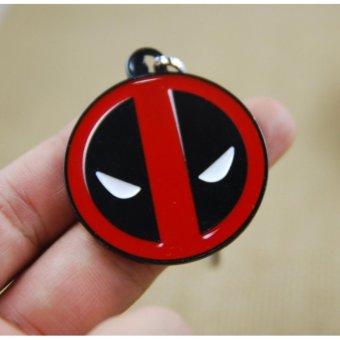 1pcs Movie Key Chain Deadpool Dead Pool Keychain Men Gift Key ChainKey Holder - intl .