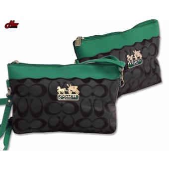 2 in 1 fashion sling bag / pouch (green) Price in Philippines