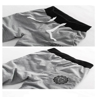 2 PCS Men Casual Workout Running Sport Jogging Short Pants - intl - 3