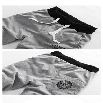 2 PCS Men Casual Workout Running Sport Jogging Short Pants - intl - 3
