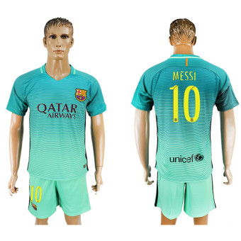 2016--2017 Barcelona Football team second away NO.10 Soccer Jerseysuits - intl