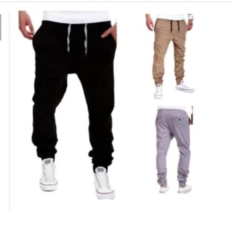 2017 Mens Pants Casual Pants Sweatpants Jogger - intl