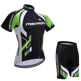 2017 MERIDA team Cycling Jersey Cycling clothing BreathableMountain Bike Clothes / Summer White Quick Dry Bicycle SportswearX7-04 - intl