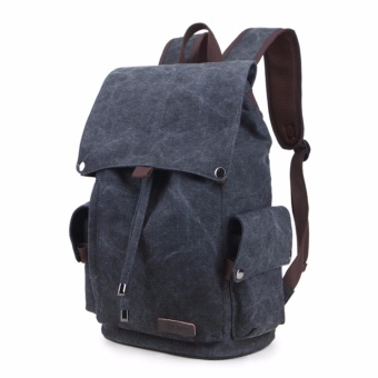 2017 New Fashion Backpacks Canvas Women Backpack School Bag for Teenagers Ladies Girl Back Pack Bagpack Mochila - intl