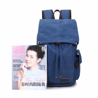 2017 New Fashion Backpacks Canvas Women Backpack School Bag for Teenagers Ladies Girl Back Pack Bagpack Mochila - intl - 4