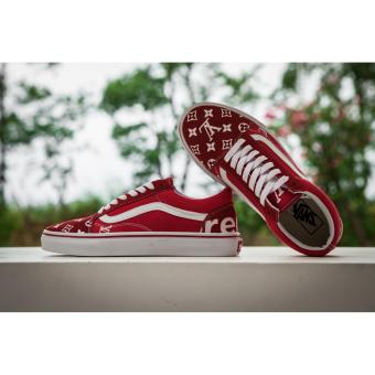 2017 New Fashion Vans Unisex Old Skool Skate Shoe - intl