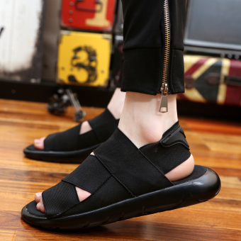 2017 new summer men sandals beach sports and leisure shoes men shoes Roman youth Korean slippers - intl - 5