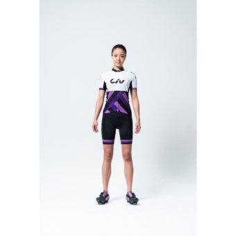 2017 New Summer Women MTB Bike Cycling Clothing Suit Breathable Bicycle Clothes Berbasikal UV Cycling Jersey Set - intl