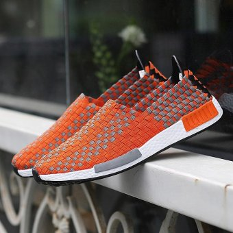 2017 Summer Fashion Breathe Jant Or Lady Woven Shoes Leisure FlatRunning Sneaker - intl - 3
