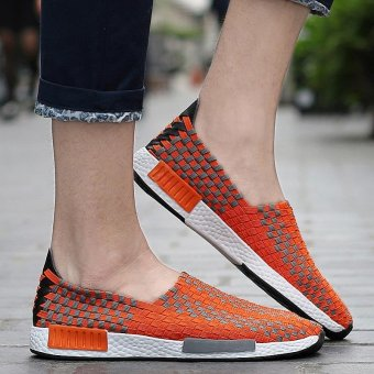 2017 Summer Fashion Breathe Jant Or Lady Woven Shoes Leisure FlatRunning Sneaker - intl