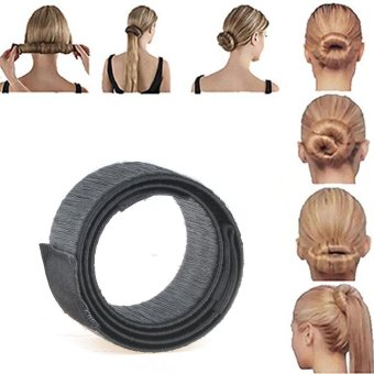 2pcs Bun Maker DIY Women Girls Perfect Hair Bun Making Styling French Twist Donut Bun Hairstyle Tool