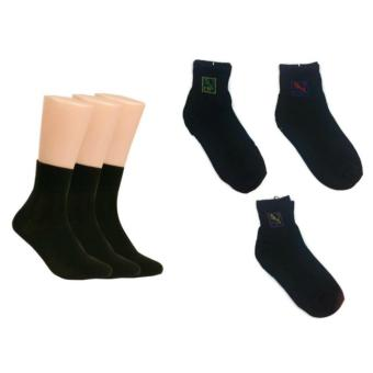 3 Pairs YS Club Men's Cotton Socks size 40-46