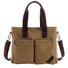 ... Single Shoulder Bag Source · 360DSC Large Capacity Canvas Handbag Tote Bag Crossbody Bag Shoulder Bag Mens Bag Dark Khaki Intl