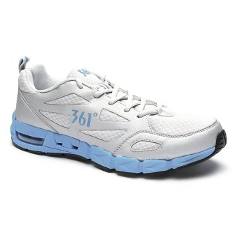 361 Degrees Air-flex Running Shoes (Light Grey/Blue)