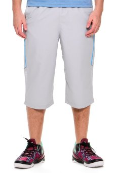361 Degrees Cross Training Cropped Pants (Light Grey)
