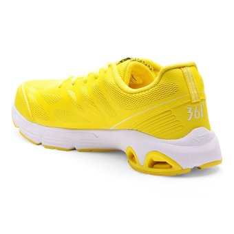 361 Degrees NFO Pro Running Shoes (Light Yellow/White) - picture 2