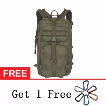 3P Tactical Backpackers Military Enthusiasts Climbing package Package Waterproof CS Camouflage Pack Outdoors Bag - intl