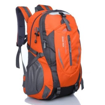 40L The new outdoor mountaineering bag bag large capacity Youth fashion backpack Youth fashion backpack female male sports tourism Korean leisure travel bag (buy 1 get 2 free) - intl