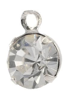 8YEARS B21857 Metal Pendants Set of 100 (Pale Silver)