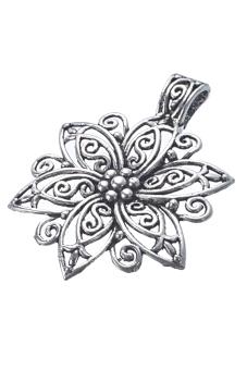 8YEARS B23485 Metal Pendants Set Of 5 (Antique silver)