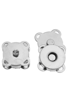 8YEARS B80185 Magnetic Clasps Set of 10 (Silver) - picture 2