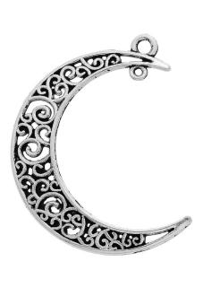 8YEARS B86332 Metal Pendants Set of 5 (Silver)