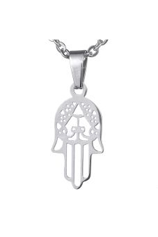8YEARS B86379 Necklace Pendant (Pale Silver)