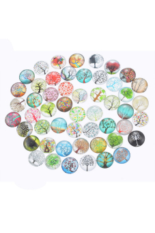 8YEARS Glass Dome Seals Set of 10 (Multicolor)