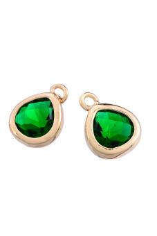 8YEARS K85958 Metal Pendants Set of 2 (Green)