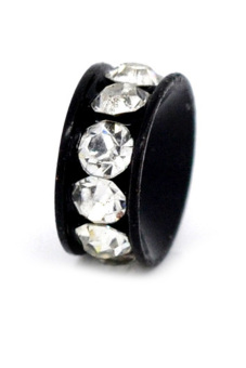 8YEARS Metal Beads Set of 10 (Black) - picture 2