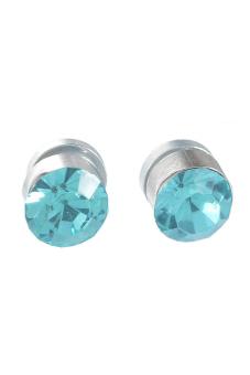 8YEARS UP01483 Stud Earrings (Silver/Blue)