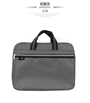A4 new portable office file holder (Gray)