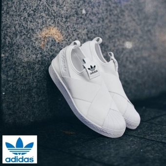 Adidas 2017 New Originals Superstar Slip-on BY2885 White/White - intl