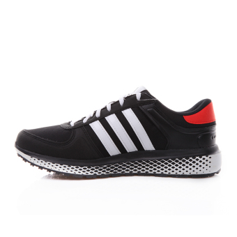 Adidas casual men and women mesh sports shoes running shoes (Black)