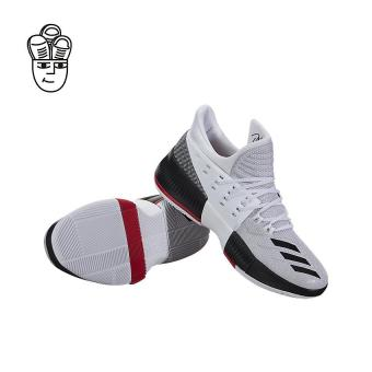adidas basketball shoes white. adidas d lillard 3 (rip city) basketball shoes white / black-scarlet red b