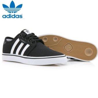 Adidas Originals Unisex Skateboarding Seeley Sneakers F37427 Black/White - intl - 3