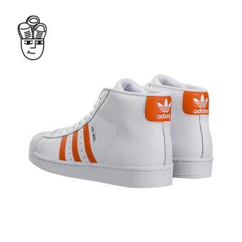 Adidas Pro Model Retro Basketball Shoes White / Orange-Gold by3729 -SH - 4